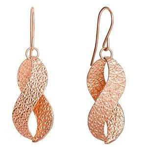 NEW Ellen Tracy Twist Earrings